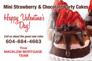 Macklem Dominion mortgages Valentine recipe