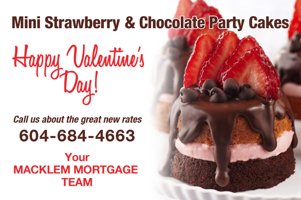 Macklem Dominion mortgages Valentine recipe