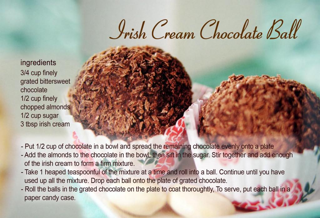 Irish cream chocolate ball recipe card billimac forumfinder Choice Image